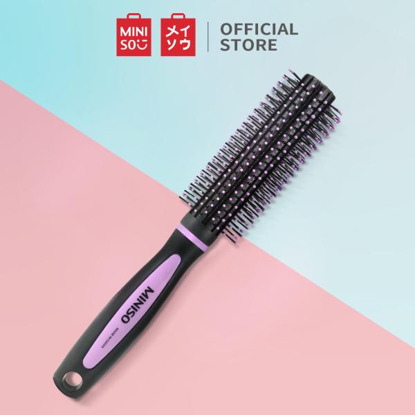 Lược chải tóc xoăn S9516 Miniso Round Brush for Curly Hair, Ramdom Pick nhập khẩu