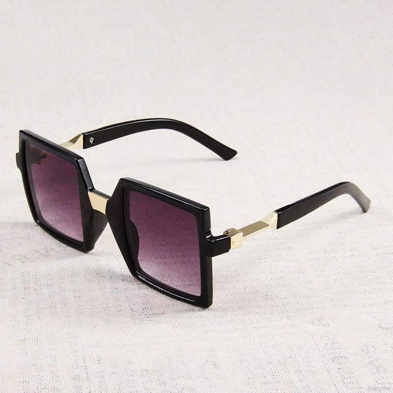 Giá bán M598--89 Mắt kính chống tia UV  thời trang trẻ em  dành cho bé trai và bé gái - Kiểu vuông