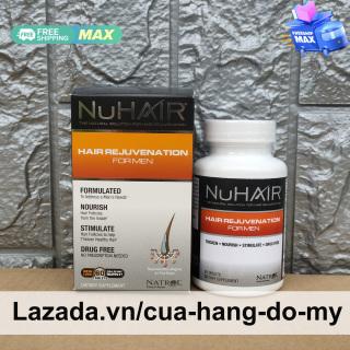Viên uống Natrol NuHair Hair Rejuvenation for Men 60 viên của Mỹ - hỗ trợ mọc tóc, ngăn ngừa rụng tóc ở nam giới Nu Hair thumbnail