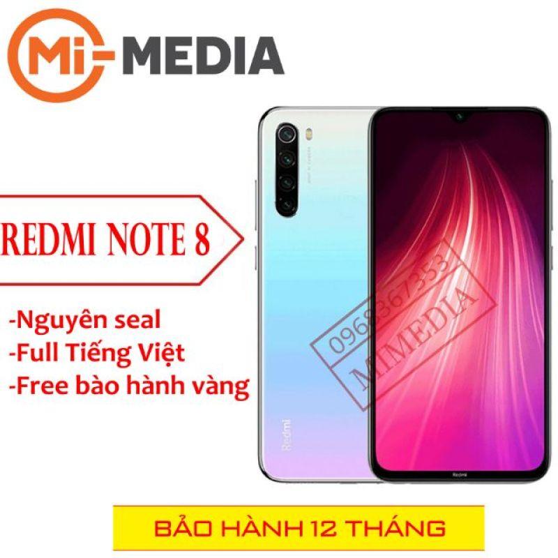 Điện thoại Xiaomi redmi note 8 4-64 full Tiếng Việt nhập khẩu chính hãng