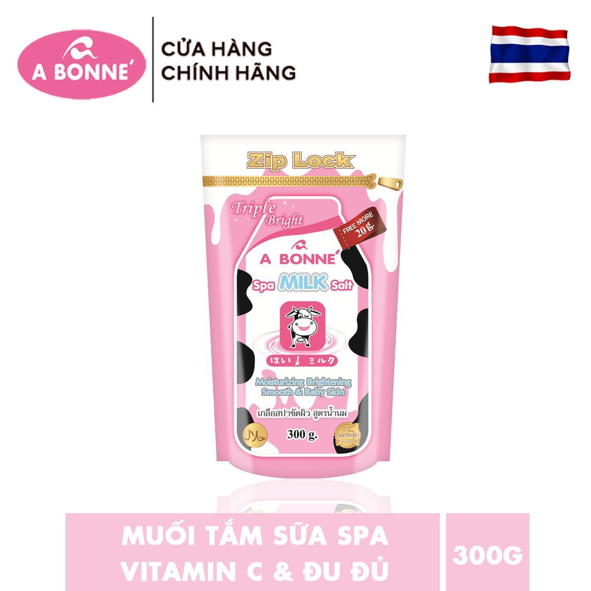 Muối tắm sữa Spa A Bonne  300g