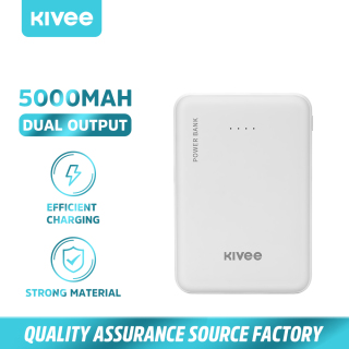 Pin sạc dự phòng 5000mAh Dual USB LED Mini Murah Sạc nhanh cho Iphone Android Universal Mô iPhone Huawei Samsung Xiaomi oppo vivo (PT609) KIVEE thumbnail
