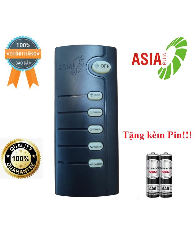 Điều khiển quạt Asia- Hàng chính hãng công ty mới 100% tặng kèm Pin