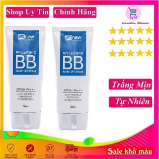 Kem nền mỏng mịn, tông kem sáng tự nhiên đa chức năng BB Cream 3in 1 Benew Hàn quốc 50ml Tuýp- Hàng Chính Hãng thumbnail