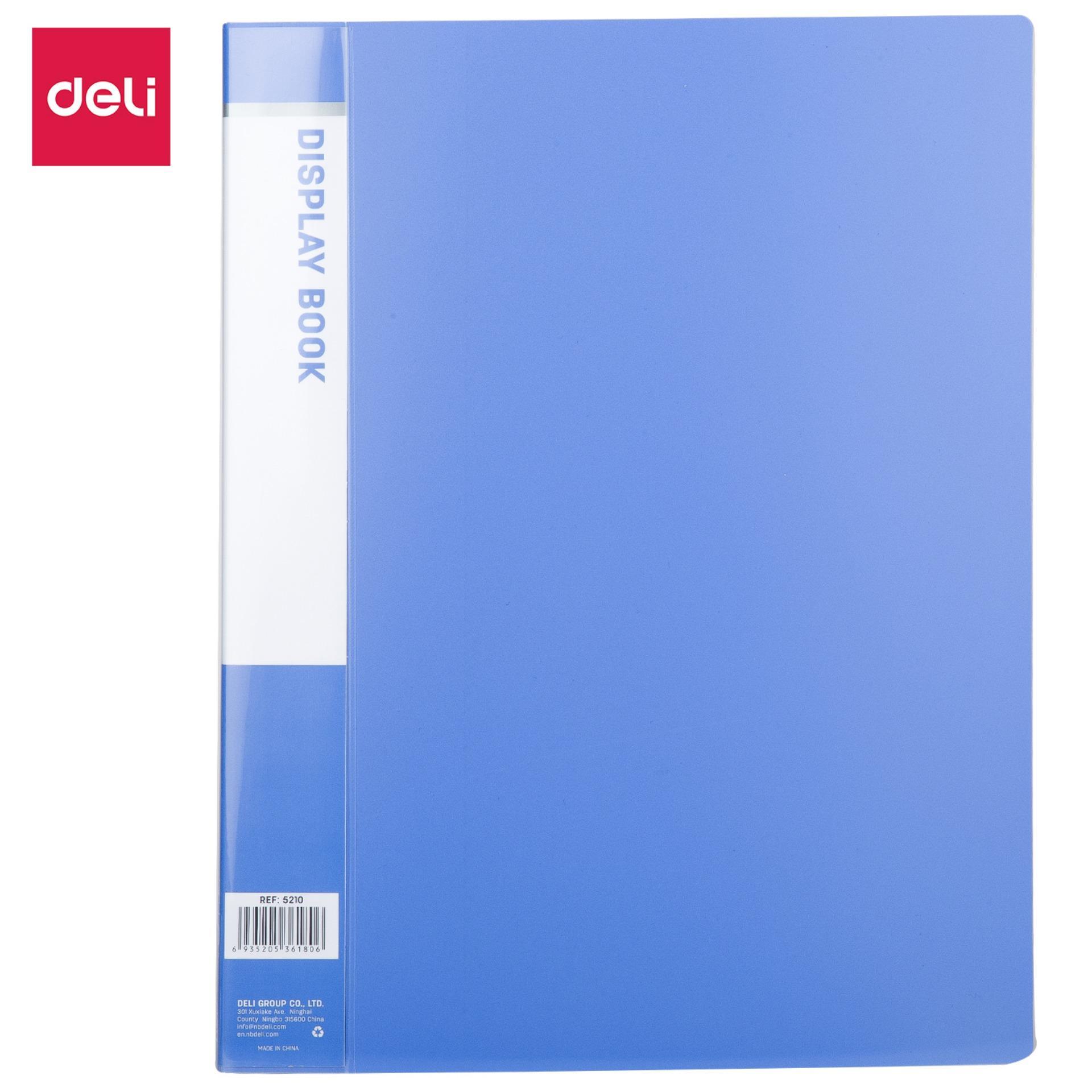 Mua DELI  File lá A4 xanh dương-1 Cái E5210