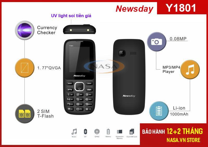 Điện thoại Newsday Y1801