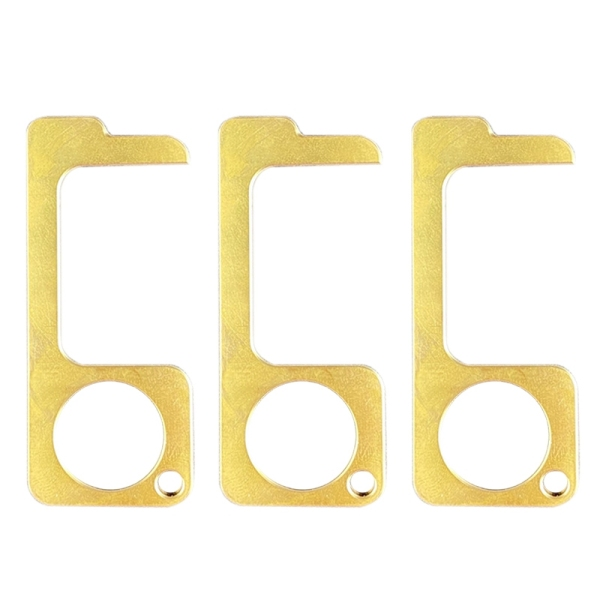 3Pcs No Contact Open Protective Tool Portable Elevator Button Drawer Door Handle Assistant Safety Contactless Artifact
