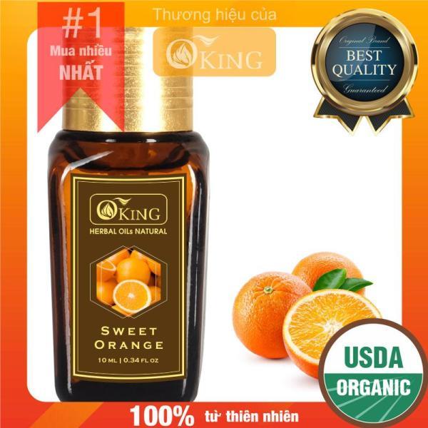 Tinh dầu Cam ngọt nguyên chất (Sweet Orange) giá rẻ