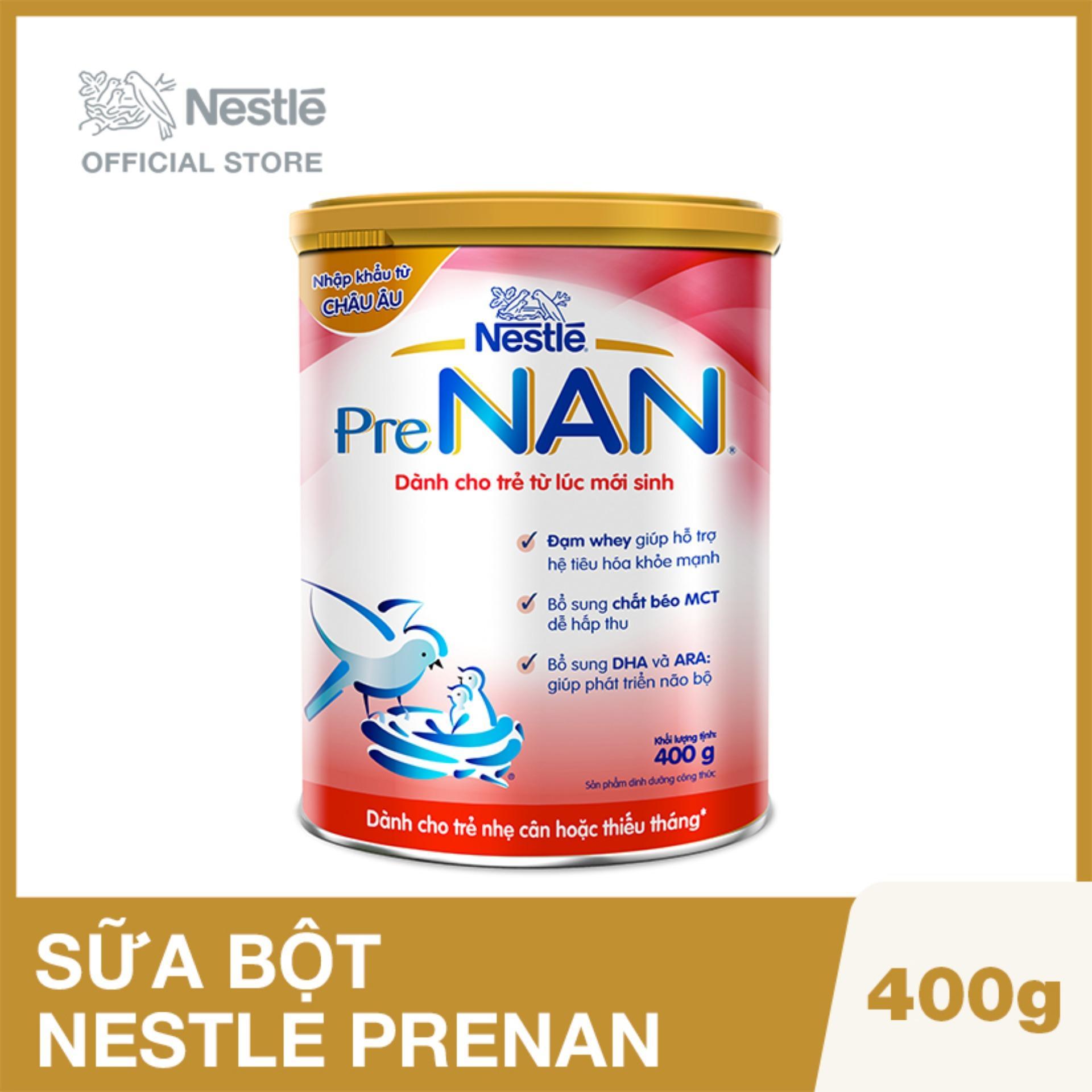 Sữa bột Nestle PreNAN 400g