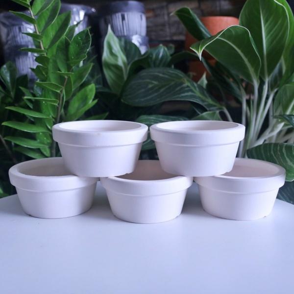 COMBO 5 chậu đất nung 14x7 cm trồng cây cảnh mini, sen đá, xương rồng, cây bonsai, Thích hợp để trồng các cây cảnh văn phòng, cây để bàn, cây mini, tiểu cảnh sen đá, xương rồng, trang trí bàn làm việc, bàn học.
