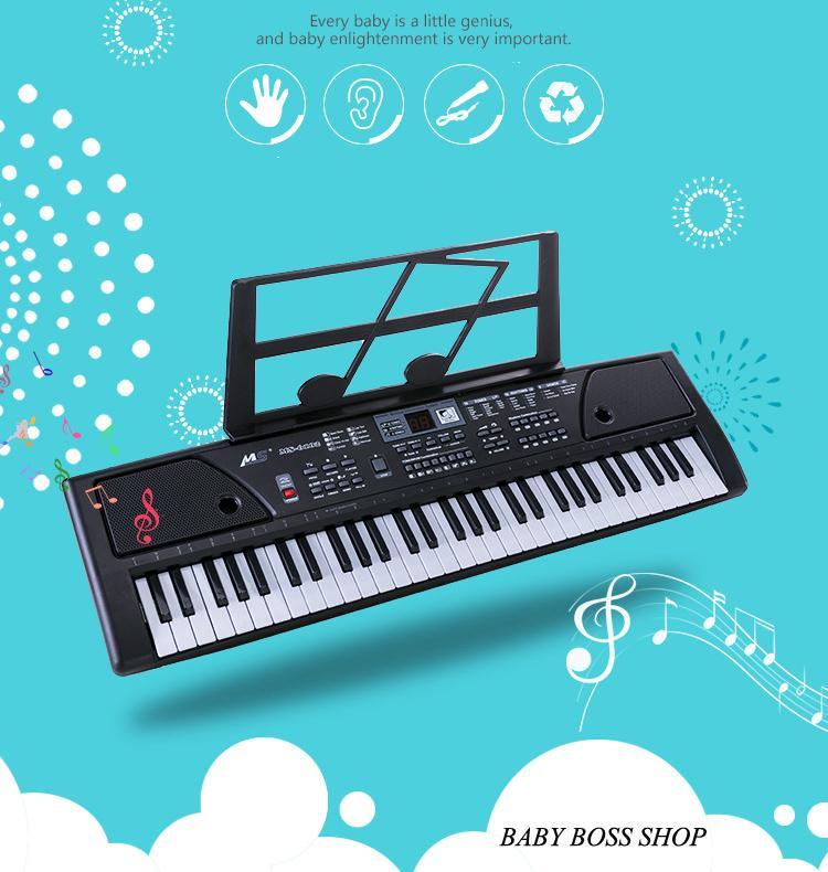 ĐÀn Piano ĐiỆn Keyboard ĐÀn Piano 61 PhÍm ĐÀn Piano Cho NgƯỜi MỚi HỌc ĐÀn Organ By Babyboss Shop.