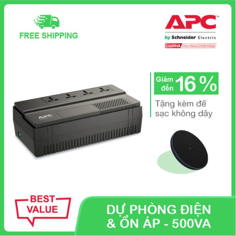 Bảng giá Bộ lưu điện APC Easy UPS BV500I-MS 500VA, 230V & ổn áp Phong Vũ