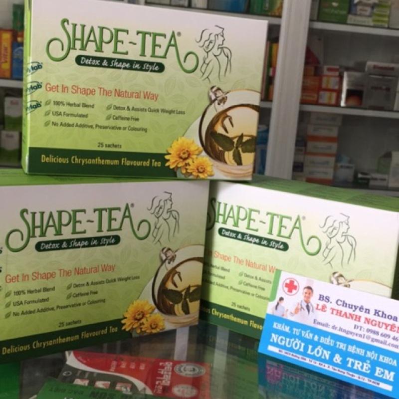 (date xa) Trà giảm cân-thanh lọc cơ thể SHAPE TEA cao cấp