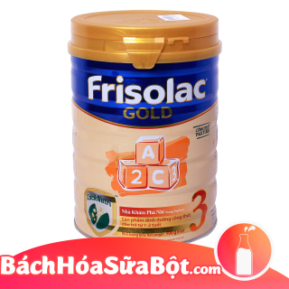 Sữa bột Frisolac Gold 3 900g (Dành cho trẻ thừ 1 - 2 tuổi) thumbnail