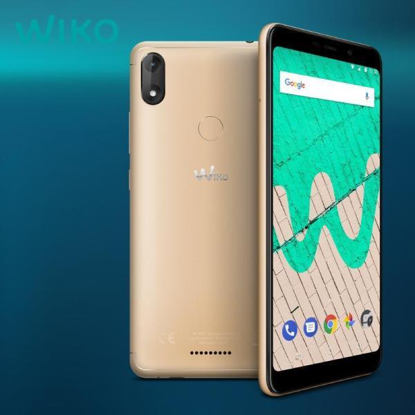 WIKO VIEW MAX | 2020  Android 8.1 Oreo -Ram:2Gb/Rom:16Gb -  Có 4G LTE- Màn Hình 6 Inch .Tràn Viền (18:9) - FullBox Tặng Ốp Lưng + Miếng Dán Màn Hình BH 12 Tháng