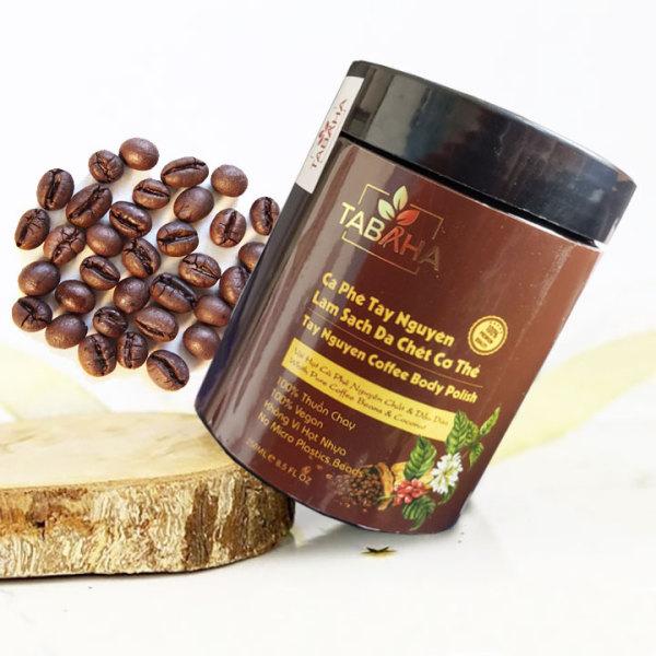 Tẩy da chết toàn thân Tabaha Tây Nguyên Coffee 250ml