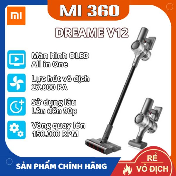 [Trả góp 0%]✅ Máy Hút Bụi Không Dây Xiaomi Dreame V12✅ Hàng Chính Hãng✅ Hàng Cao Cấp