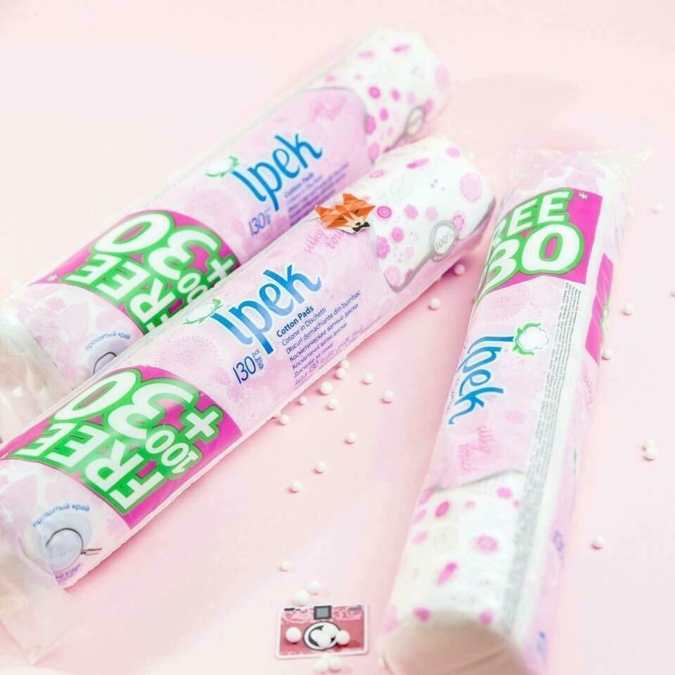 Bông tẩy trang Ipek Silky Touch chính hãng
