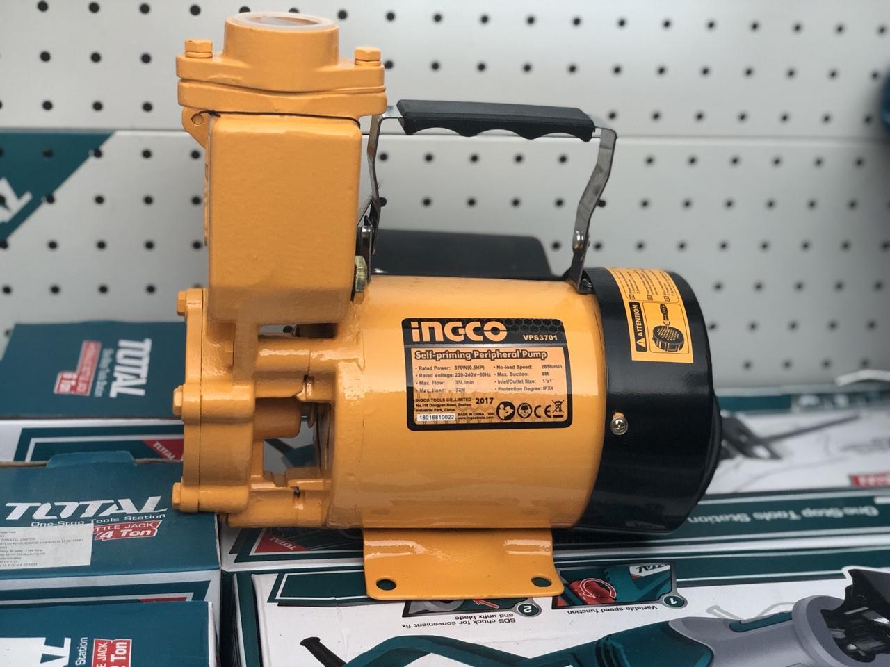 370W 0.5HP Máy bơm nước motor dây đồng hiệu Ingco VPS3701