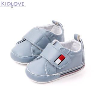 Kidlove 1 Đôi Giày Em Bé, Giày Tập Đi Thể Thao Nhiều Màu Đế Mềm Pu Cho Bé 3-12 Tháng Tuổi Nhé