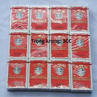 Combo 12 Dầu Thái lan Siang Pure Oil 0.5ml chữ màu vàng Thái Lan thumbnail