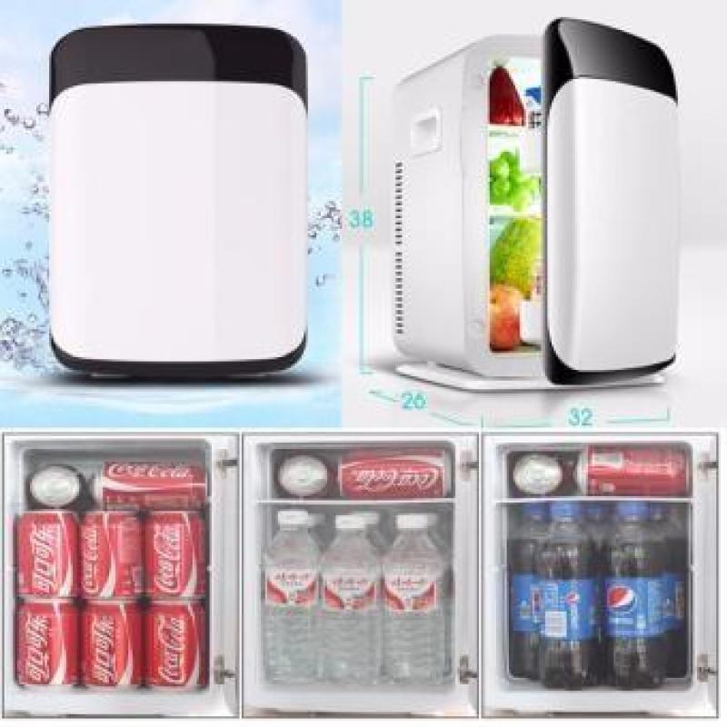 Tủ lạnh mini hộ gia đình và xe hơi VegaVN - 10 Lít-Tủ lạnh, tủ mát mini dùng cả trong nhà, trên oto, xe hơi (10 Lít, hai chiều nóng lạnh) Cao cấp.Tủ lạnh mini 2 chế độ nóng 60 độ lạnh 5 độ dung tích 10 lít