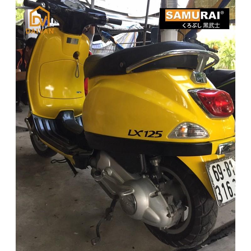 Combo Sơn Samurai màu vàng 1728 cho dàn áo xe máy