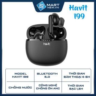 Tai nghe TWS Havit I99 - Bluetooth 5.0 - Không dây - Chống nước IPX7 - Cảm ứng - Bass khủng thumbnail