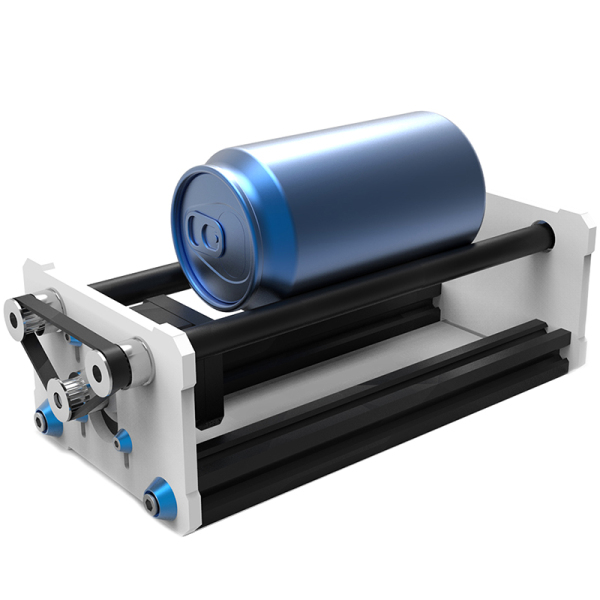 Giá Rotate Engraving Module A3 Lasing Engraver Machine Y Axis Diy Update Kit with Stepper Motor Wire for Column Cylinder Engraving