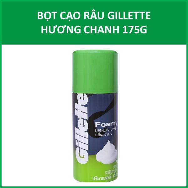 Bọt cạo râu Gillette Hương Chanh 175g giá rẻ