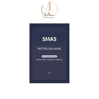 Mặt nạ giấy tế bào gốc SMAS Peptide Silk Mask dưỡng ẩm và phục hồi da cấp tốc 25g miếng thumbnail