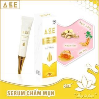 Serum chấm mụn 24h ACE làm mờ mụn thâm nám sạm trắng da khít chân lông 20ml - Công ty Kim Ngân thumbnail