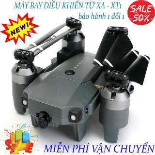 Flycam, Flycam điều khiển Giá Rẻ Flycam XT-1 Động cơ mạnh mẽ camera chống rung quang học Flycam XT1 Wifi 720P Camera Truyền Hình Ảnh Về Điện Thoại Thiết Kế Cánh Gập Phiên Bản 2020 sale 50% thumbnail