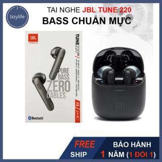 [BASS CHUẨN, CHẤT] Tai Nghe Bluetooth JBL cao cấp, Bass trầm, sâu, nghe nhạc liên tục 3 giờ, standby 1 tháng, Chống tạp âm, phù hợp tất cả điện thoại smartphone shop izzylife thumbnail