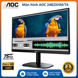 (Bảo hành 24 tháng) Màn hình máy tính cây AOC IPS 24B2XHM 74 - FHD (1920 x 1080) 75Hz 5ms 24 inches l HÀNG CHÍNH HÃNG , Màn hình máy tính 24 inch , màn hình pc , màn hình pc gaming thumbnail