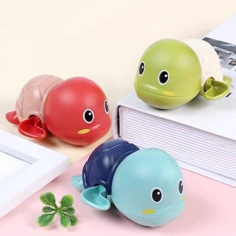Tiết Kiệm Cực Đã Khi Mua Bath Toys: Rùa Bơi Trong Nước Siêu Dễ Thương, Dùng Cho Bé Chơi Trong Nhà Tắm