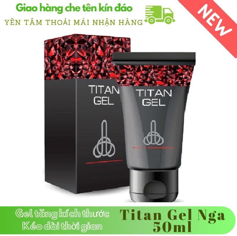 [ Lô mới nhất ] 1 hộp Gel-Titan-Nga cao cấp (50ml) (Che tên khi giao hàng)