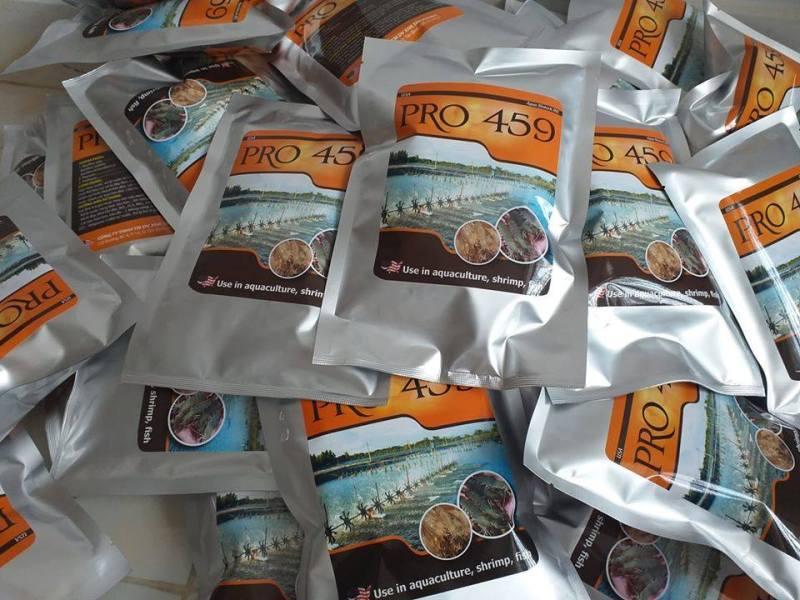 Nhập và phân phối vi sinh nguyên liệu ( Cắt tảo, xử lý đáy, xử lý nước, khử khí độc, sạch bạt, sạch nhớt...) túi 500gram