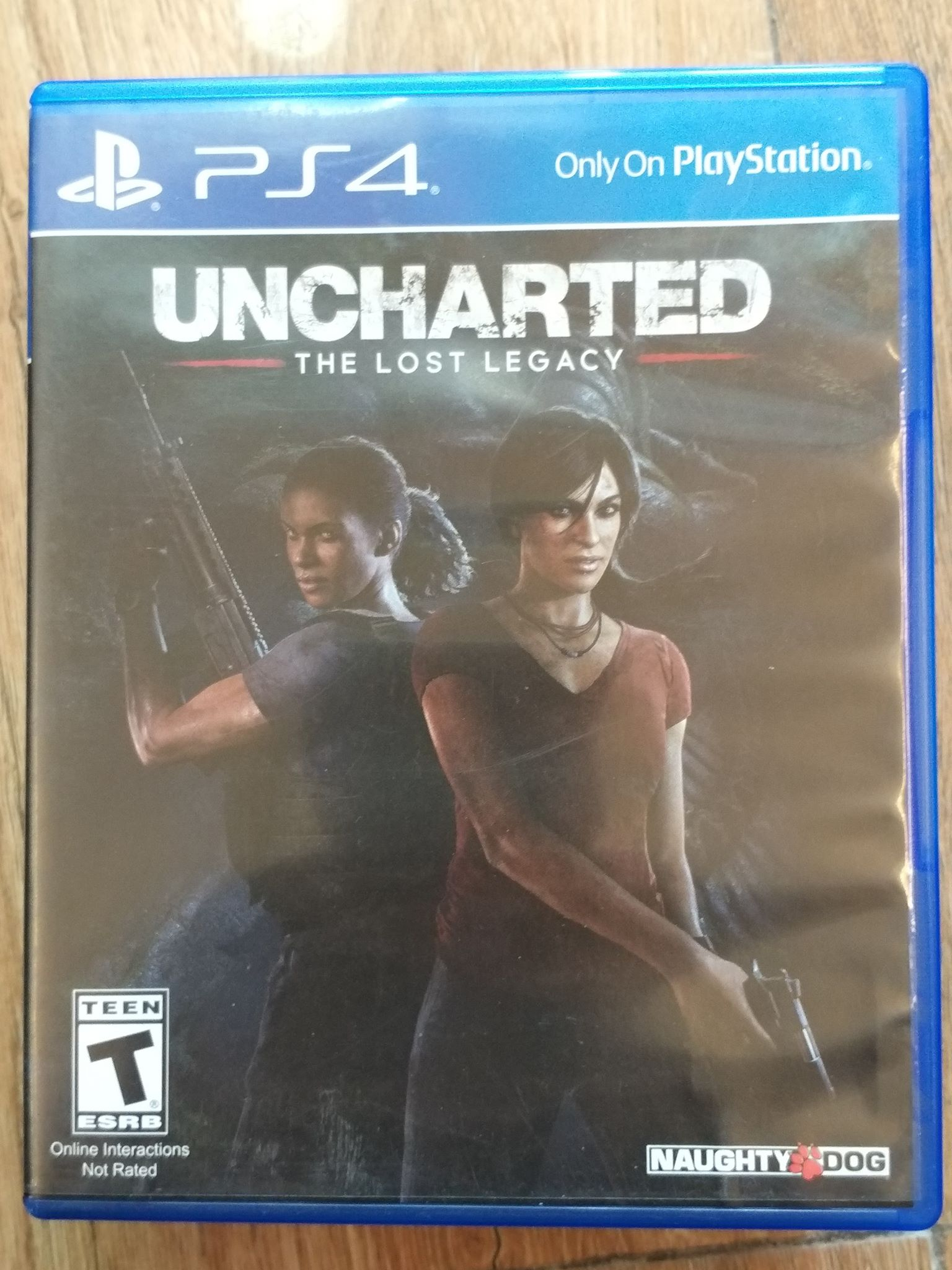 Đĩa Game Playstation 4 - UNCHARTED : THE LOST LEGACY