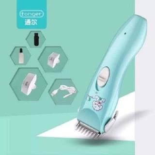 Tông đơ cắt tóc cho bé TOIR cao cấp dùng được cho mọi lứa tuổi, có sạc USB (tặng 2 cữ )Tông đơ cắt tóc trẻ em thumbnail