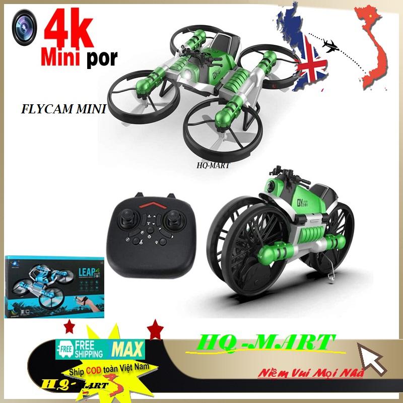 ❤️ Hàng xuất khẩu ❤️Flycam giá rẻ - mini 2 trong 1 kiêm xe moto - Flycam giá rẻ 100k mini chất hơn flycam mavic 2pro,phatom 4 pro,xiaomi,sjrc f11 pro, Z5, 4K, XT1, F11, x1s, dji, e88, e68, gps,…...Flycam HQ Mart, flycam giá rẻ 100k mini