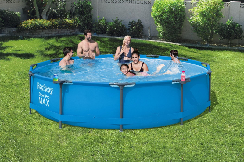 Bể bơi cho bé và bể bơi gia đìnhBestway 56416 ĐK: 3.66m x 76cm