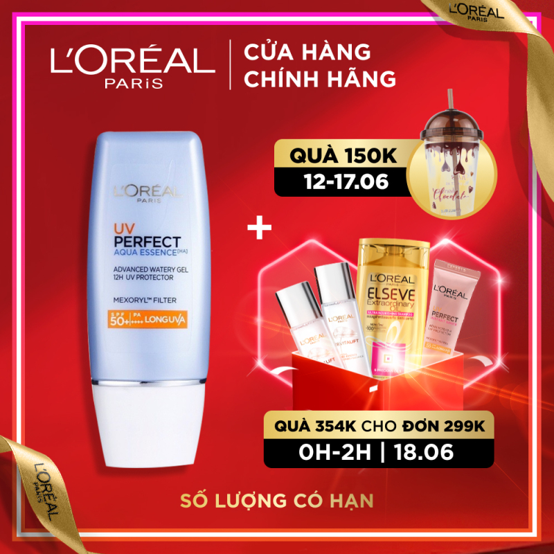 Kem chống nắng bảo vệ & dưỡng da LOreal Paris UV Perfect SPF50+ PA++++ 30ml giá rẻ