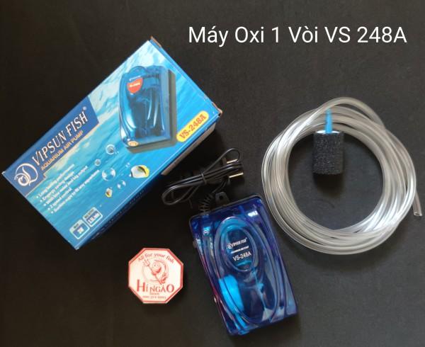 Máy Sục Khí Oxi - Máy Sục Khí Oxi VS-248A ( tặng dây, sủi) - Phụ kiện cá cảnh  | Hingaostore.