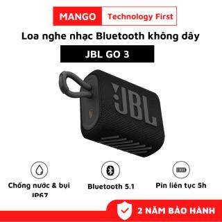 Loa Bluetooth JBL Go 3, Loa Nghe Nhạc Công Suất Lớn 4.2 W, Loa Bluetooth Bass Mạnh, Kháng Nước và Bụi IP67, Chơi Nhạc 5h, Công Nghệ JBL Pro Sound, Kiểu Dáng Di Động, Kết Nối Bluetooth 5.1, Dùng Cho LapTop, Máy Tính, Điện Thoại, TiVi thumbnail