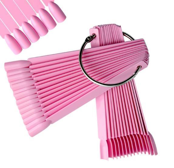 Móng que sơn mẫu màu hồng 50 chiếc tốt nhất