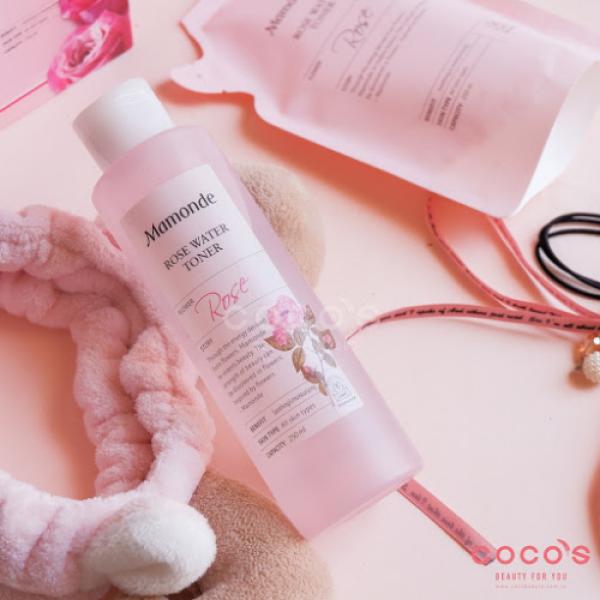 Nước hoa hồng Mamonde ngăn ngừa mụn, se khít lỗ chân lông