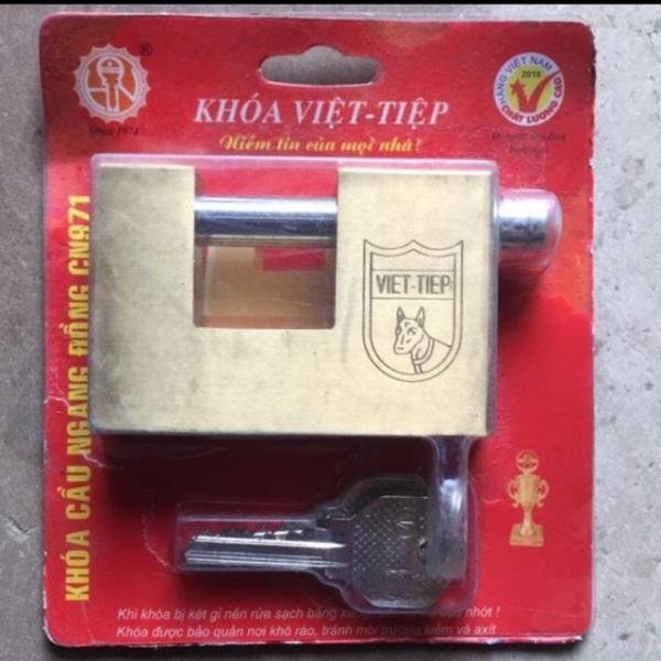 Khoá Cầu Ngang Đồng Việt Tiệp Cn 971 ( Hàng Chính Hãng )
