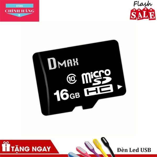 Thẻ nhớ 16GB Dmax Micro SDHC class 10