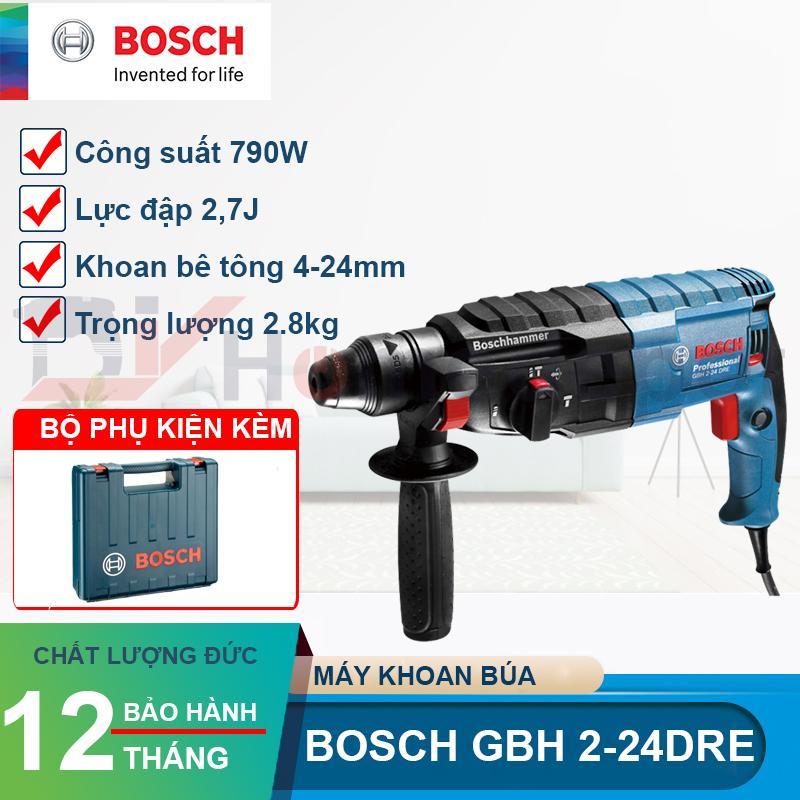 Máy khoan búa 790W Bosch GBH 2-24 DRE